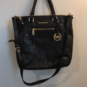 Michael Kors tote purse brand new with tags black